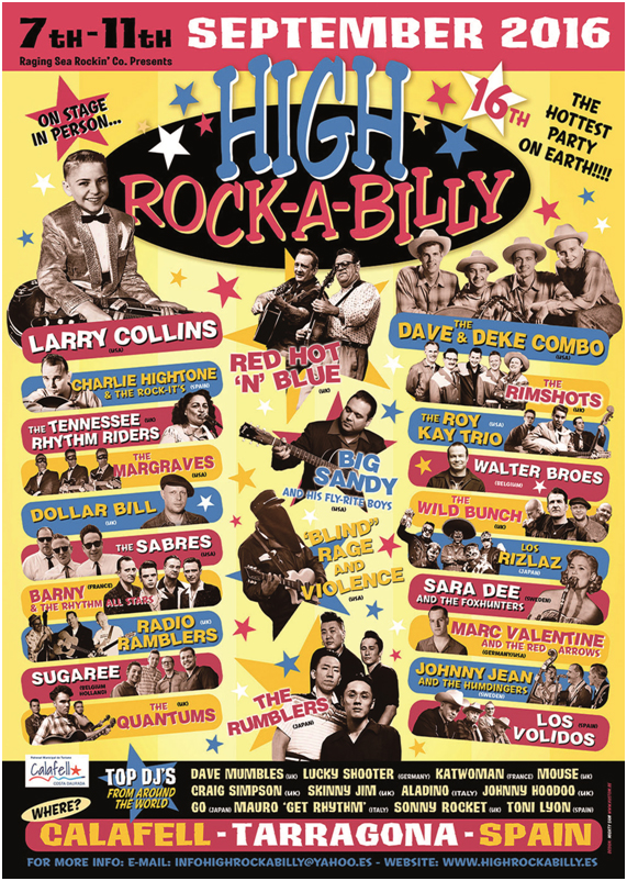 poster rock-a-billy